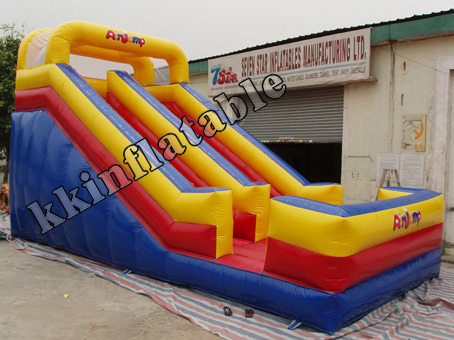 0.45mm PVC Kids Inflatable Slide Free Air-blower CE+Blower
