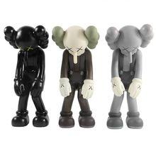 Trend Artists KAWS small lie  action figures toys for children OriginalFake toys Medicom Toy