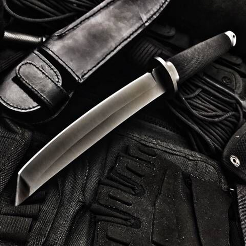 High Hardness Fixed Blade Tactical Knife Outdoor Army Hunting Knifes Survival Gear Straight Knives Combat Katana Camping Tools