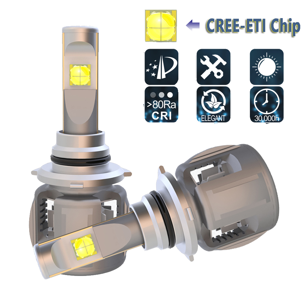 <font><b>LED</b></font> Car Headlight HB3 9005 <font><b>HB4</b></font> 9006 <font><b>LED</b></font> Headlight Bulbs Conversion Kit For <font><b>CREE</b></font> Chip 120W 12000LM 6000K Auto Headlight Fog Light image