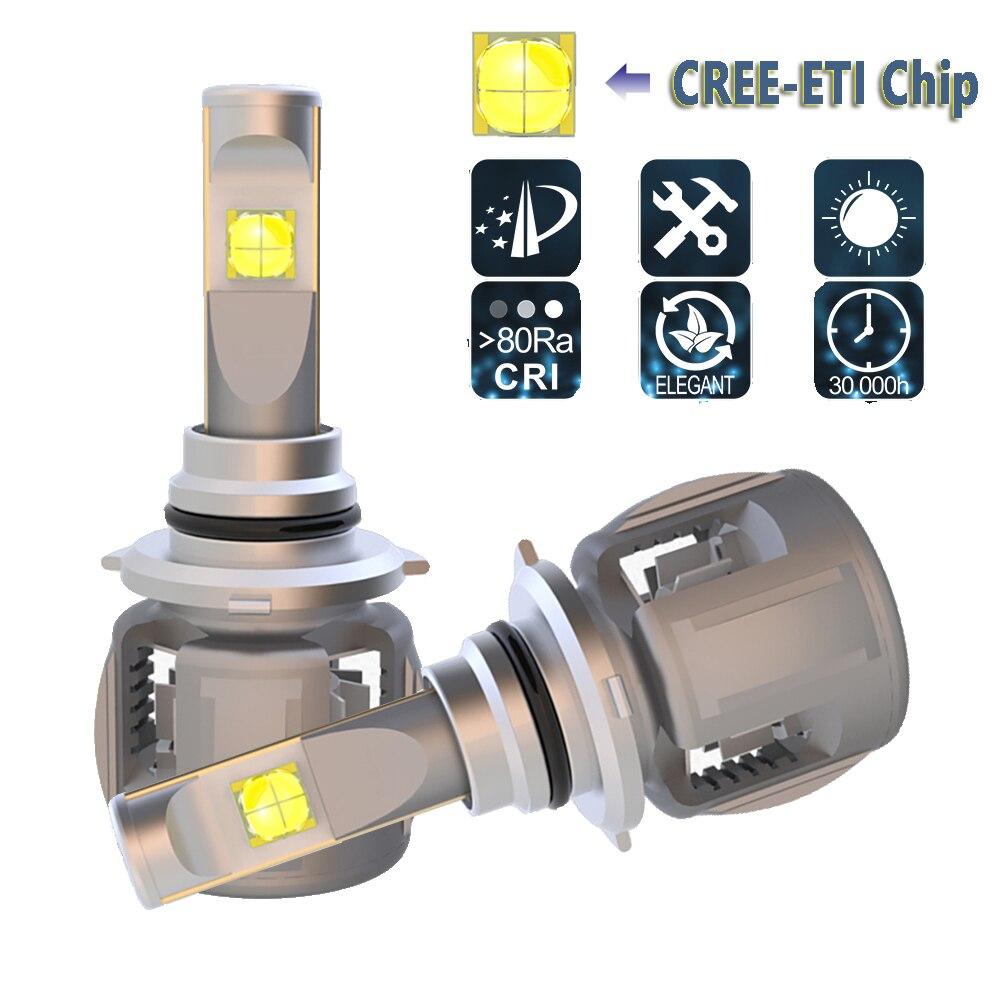 LED Phare De Voiture HB3 9005 HB4 9006 LED Phare Ampoules Conversion Kit Pour CREE Puce 120 w 12000LM 6000 k auto Phare de Lumière de Brouillard
