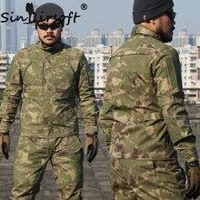 SINAIRSOFT TAKTISCHE Männer Städtischen Sport BDU Tarnung Jacke Outdoor Wandern Jagd Militärischen Anti-scratch Schießen Outwears