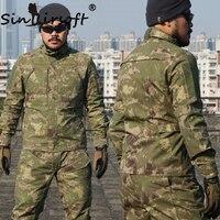 Sinairsoft тактические мужские спортивные городские BDU камуфляжная куртка туристические Охота Военная против царапин съемки верхняя одежда