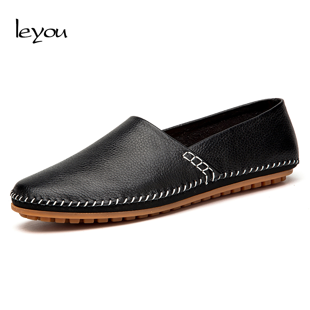 Men Leather Flats Slip On loafers Zapatos Hombre Mens Shoes Casual Driving Shoes Genuine Leather Spring Autumn Superstar Shoes hot high quality men loafers leather round toe slip on casual shoes man flats driving shoes hombre zapatos comfortable moccasins