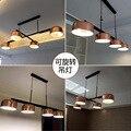 Скандинавский современный Лофт подвесной стеклянный подвесной светильник  светильники E27 E26  светодиодные подвесные светильники для кухни ...