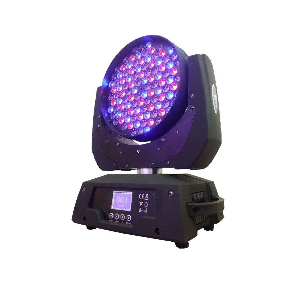 Eyourlife 350W Led Stage Moving Head Beam Wash Light 108x3W RGBW DJ Disco Lighting DMX Sound Professional Laser Party Lights  2017 mini led spider 8x10w rgbw color led moving head beam light dmx stage light party club dj disco lighting holiday lights
