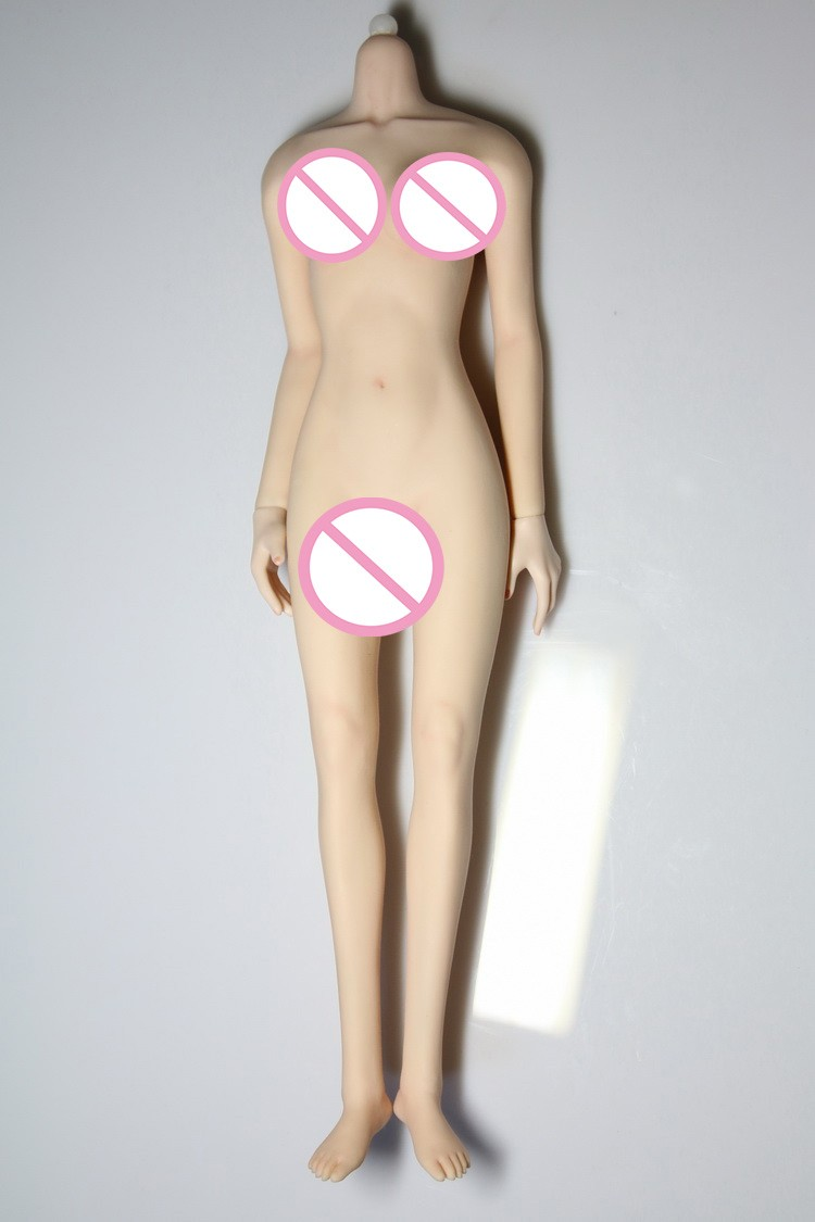 1/6 scale Super flexible figure body for 12 Action figure doll Female seamless body Middle Bust fit HT&OB head.not include head 1 6 scale figure accessories doll body for 12 action figure doll super flexible female body in pink or tan skin