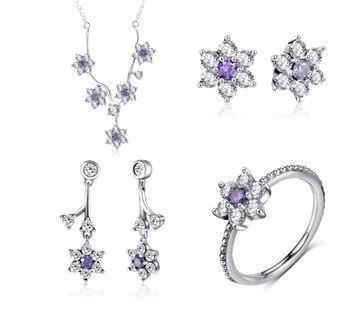 0624a9a6c2e5 Pijamas 925 anillos de plata esterlina para mujeres boda accesorios de joyas  de Zirconia cúbica gran promoción