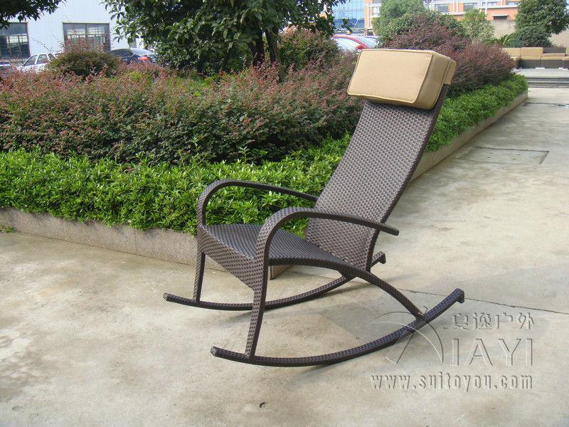Garden Furniture Rocking Chair Wicker With Design