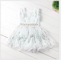 Эльза джерси завязки лето стиль лето девочка платье дети без рукавов для ну вечеринку одежда платья