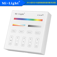 Milight B4 4 Zone RGB RGBW RGBW CCT Smart Panel Remote Controller For Led Strip Light