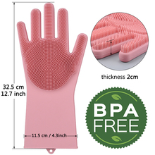 Magic Silicone Kitchen Cleaning Gloves