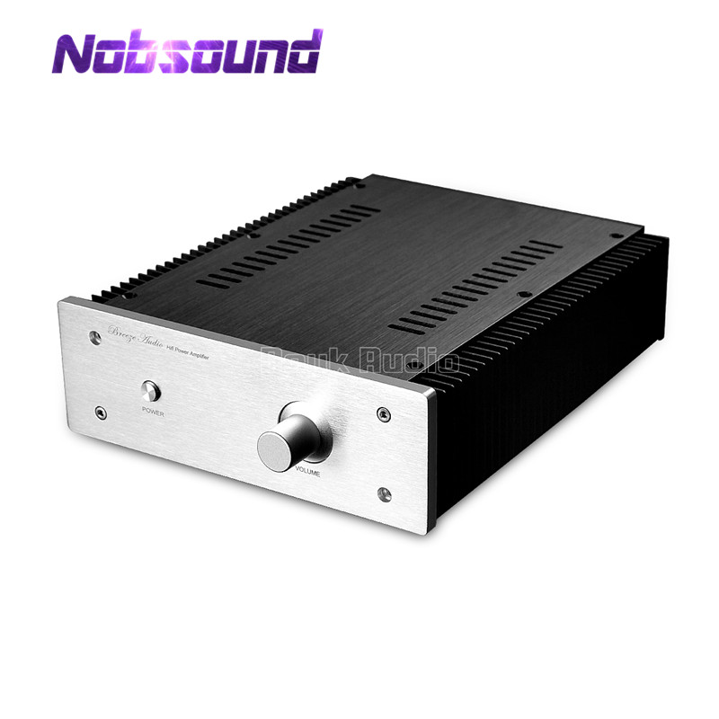 Nobsound Aluminum Chassis DIY Case Amplifier Enclosure with Radiator