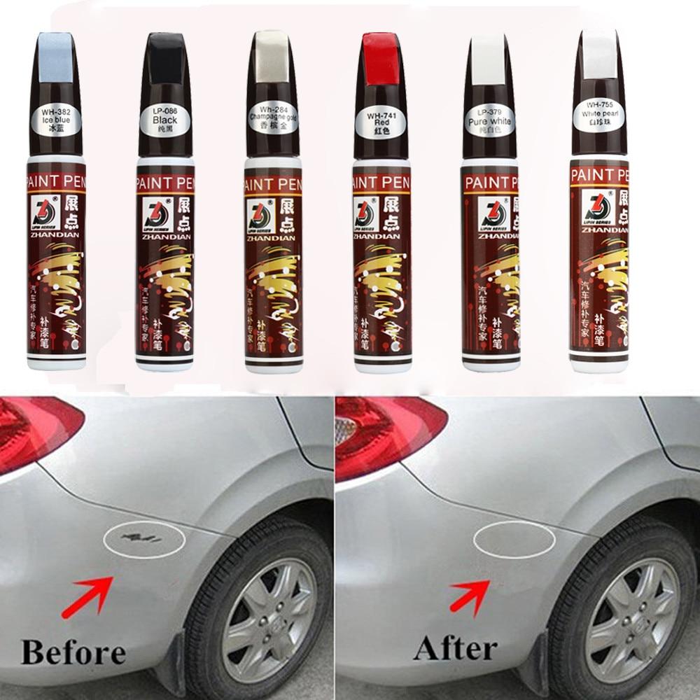 White car paint scratch repair pen 10