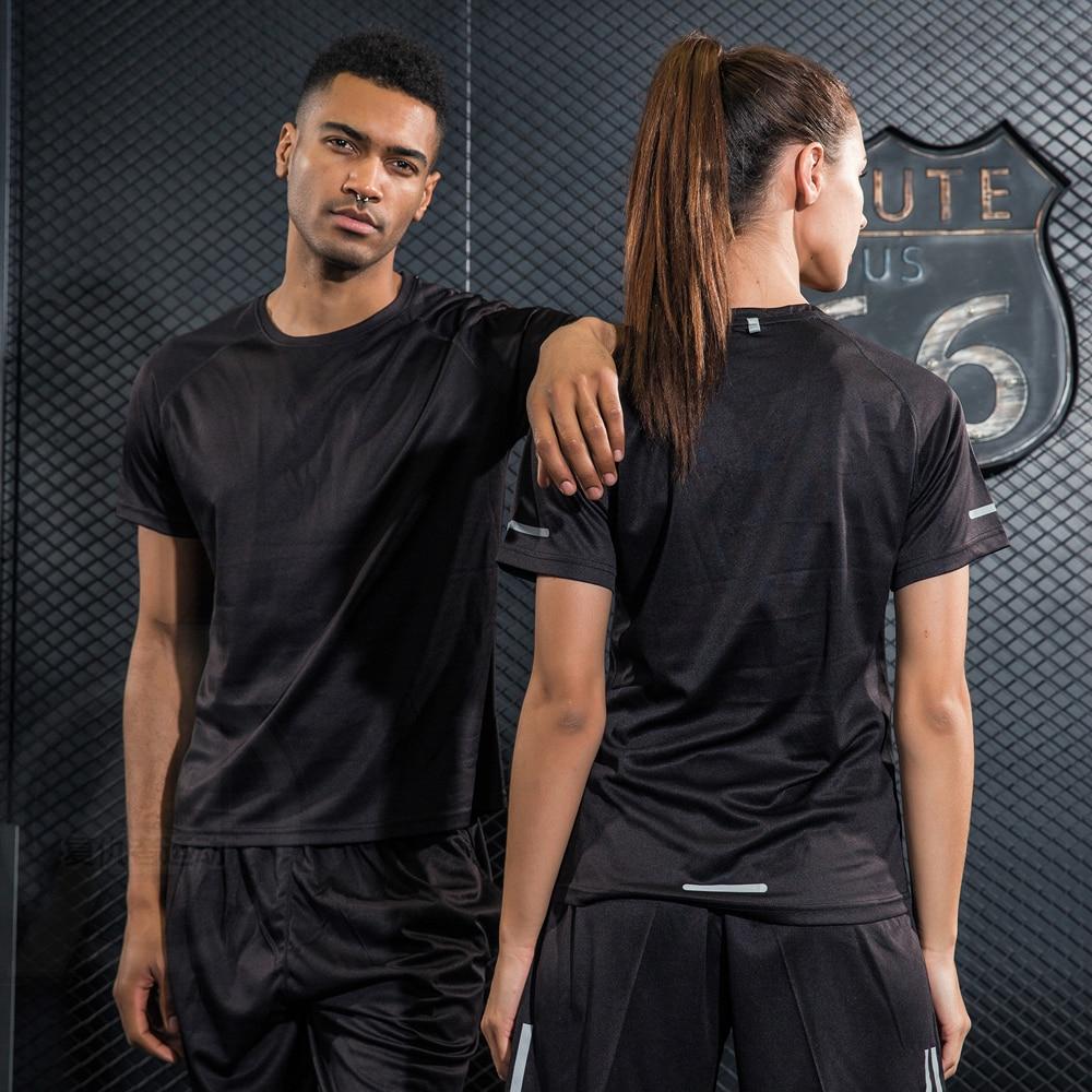 Gym Clothing Bodybuilding font b Fitness b font Men Women basketball Running t shirt Quick dry