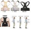 Ajustável Magnetic Therapy Postura Cinta Corrector Ombro Para Trás Suporte Belt para Chaves & Suporta Cinto Masculino Feminino