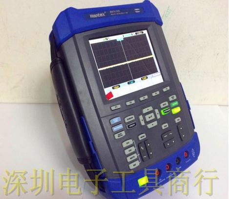 US $449 58 38% OFF|HANTEK DSO8072E 70MHz 6 IN1 Handheld Digital  Oscilloscope+Signal generator+DMM+Recorder+Frequency counter+FFT Spectral  analysis-in
