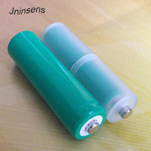 AAA to AA Size Cell Battery Converter Adapter Adaptor Batteries Holder Plastic Case Switcher Wholesale стоимость