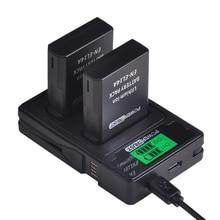 2 × 1500mah EN EL14 en EL14 EN EL14aバッテリー + 液晶デュアル充電器ニコン用P7800 、P7100 、d3400 、D5500 、D5300 、D5200 、D3200 、D3300 、MH 24