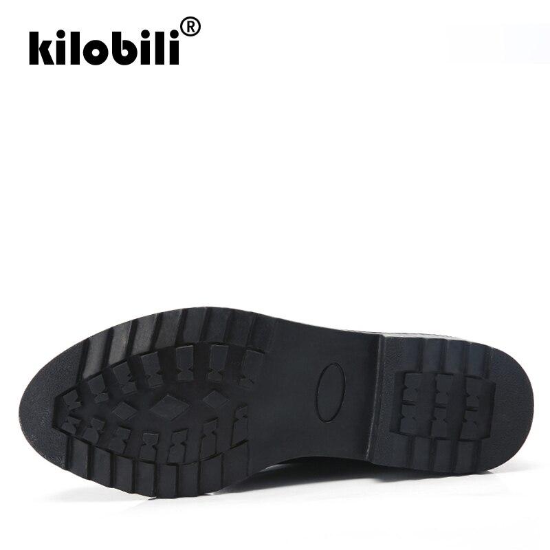Black En Bottes Femmes Chaud Kilobili fur black Avec 2019 Imperméables Plates Talon Cheville Plat Neige D'hiver De Des Peluche Dames EnpTEqXW
