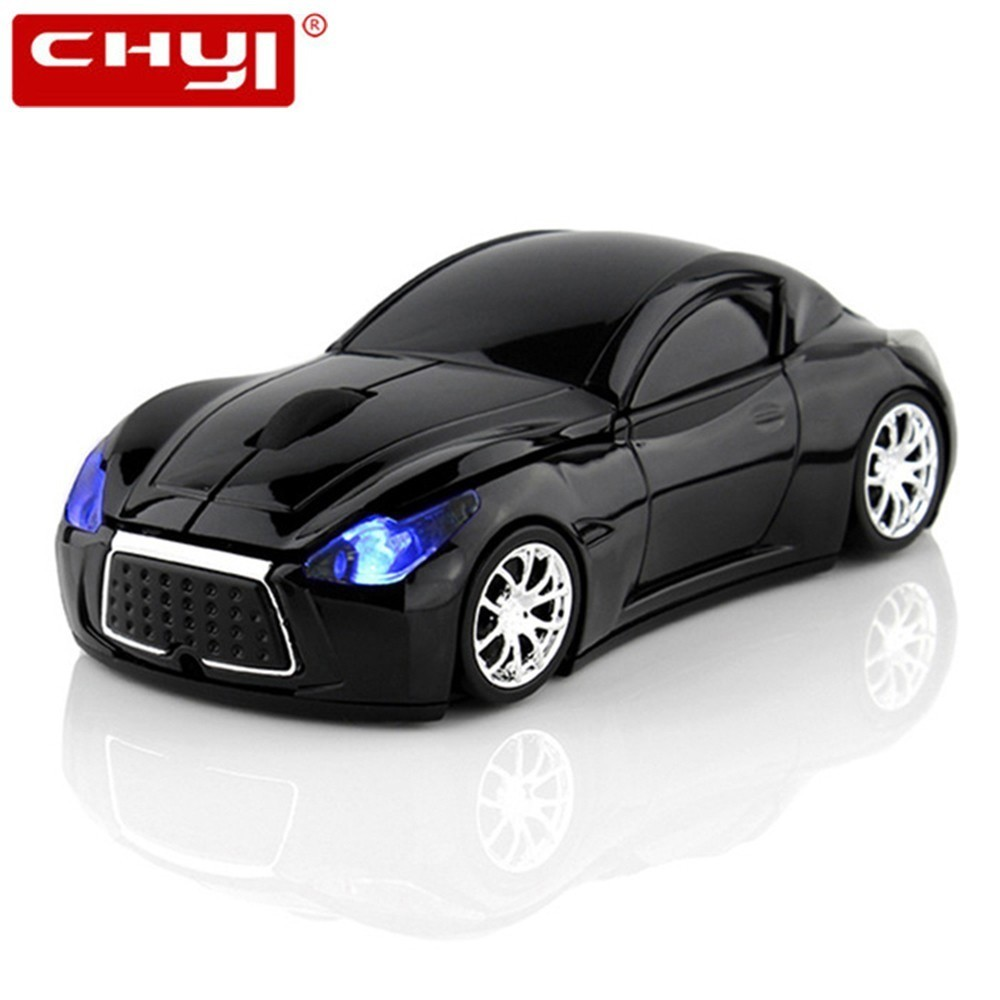 CHYI Wireless Car Mouse Infiniti Sports Car 2.4Ghz USB Optical Computer Mice 3D Mause Gamer For PC Laptop Gift