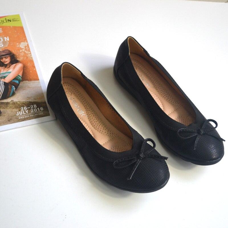Noir pewter Chaussures Arc on Noir Wellwalk Ballerines De noeud Slip Confortable rose Plat Femme Designer Taille Flats Ballet La Mode Plus dRwqtpw