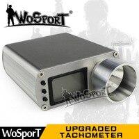 WoSporT цифровой обновлен Тахометр Скорость измерительный прибор Тахометр для BB мяч