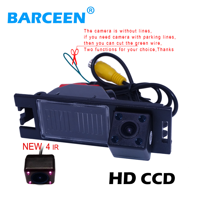 CCD Car Camera For Hyundai IX35 IX 35 2009 2010 Auto Parking Rear Camera HD Chip Night Vision HD Chip Rear View Free Shipping