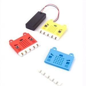 Image 2 - Elecrow bbc micro: bit placa de programação diy módulo makecode com kittenbot microbit capa protetora silicone colorido escudo