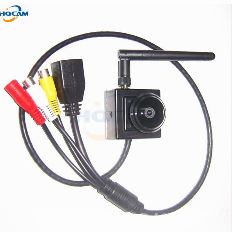 HQCAM 1.3 Megapixel 1.78mm Fisheye Lens Wide Angle Onvif  960P Wireless ip wifi camera Indoor Smallest Wifi Ip Network Camera
