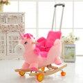 Niños caballo mecedora de Madera caballo Mecedora Caballo mecedora juguete del bebé de doble propósito del regalo del bebé