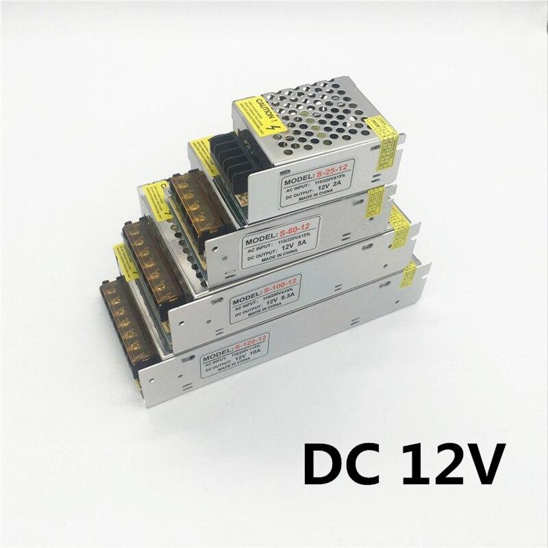 Lighting Transformer DC 1A 2A 3A 5A 8A 10A 15A 20A 30A 100-265V for 12V LED Driver Switch Power Adapter LED Stripe Free Shipping lighting transformer 1a 2a 3a 5a 8a 10a 12a 15a 20a 30a 40a 110 265v to 12v led driver switch power supply adapter for led strip
