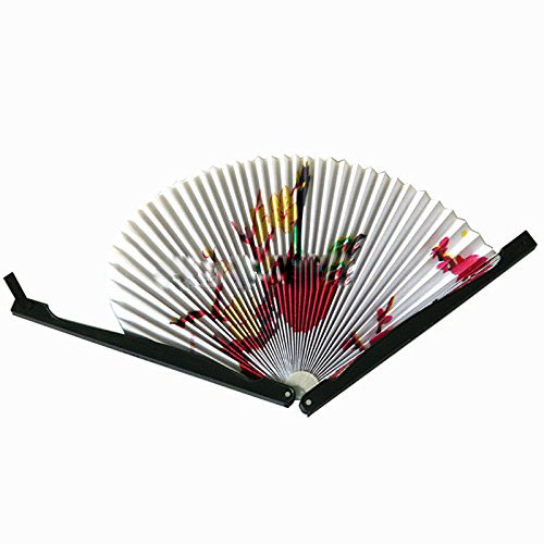 Paper Hand Fan Folding Wedding Party - Heminredning