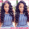 Loose Wave Human Hair Full Lace Wigs Virgin Unprocessed Natural Hairline Full Lace Wigs 7A Stocked Human Hair Lace Front Wigs