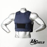 AA Shield Ballistic Suit Body Armour Vest Comfortable Bullet Proof UHMWPE Core Insert Safety M/L Dark Blue Level NIJ IIIA
