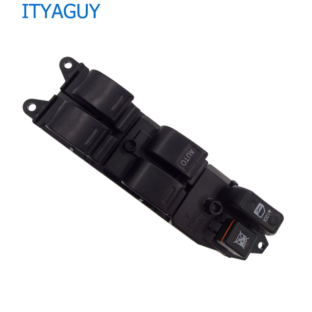New Electric Power Window Switch 84820-12480 For Toyota Camry Sienna RAV4 2001 2002 2003 2004 2005 2006 2007 2008 2009 (TO038)
