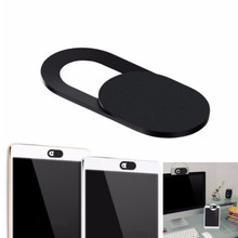 6pcs ultra thin plastic cover button slider video camera lens cover for ipad laptop sticker phone privacy(China)