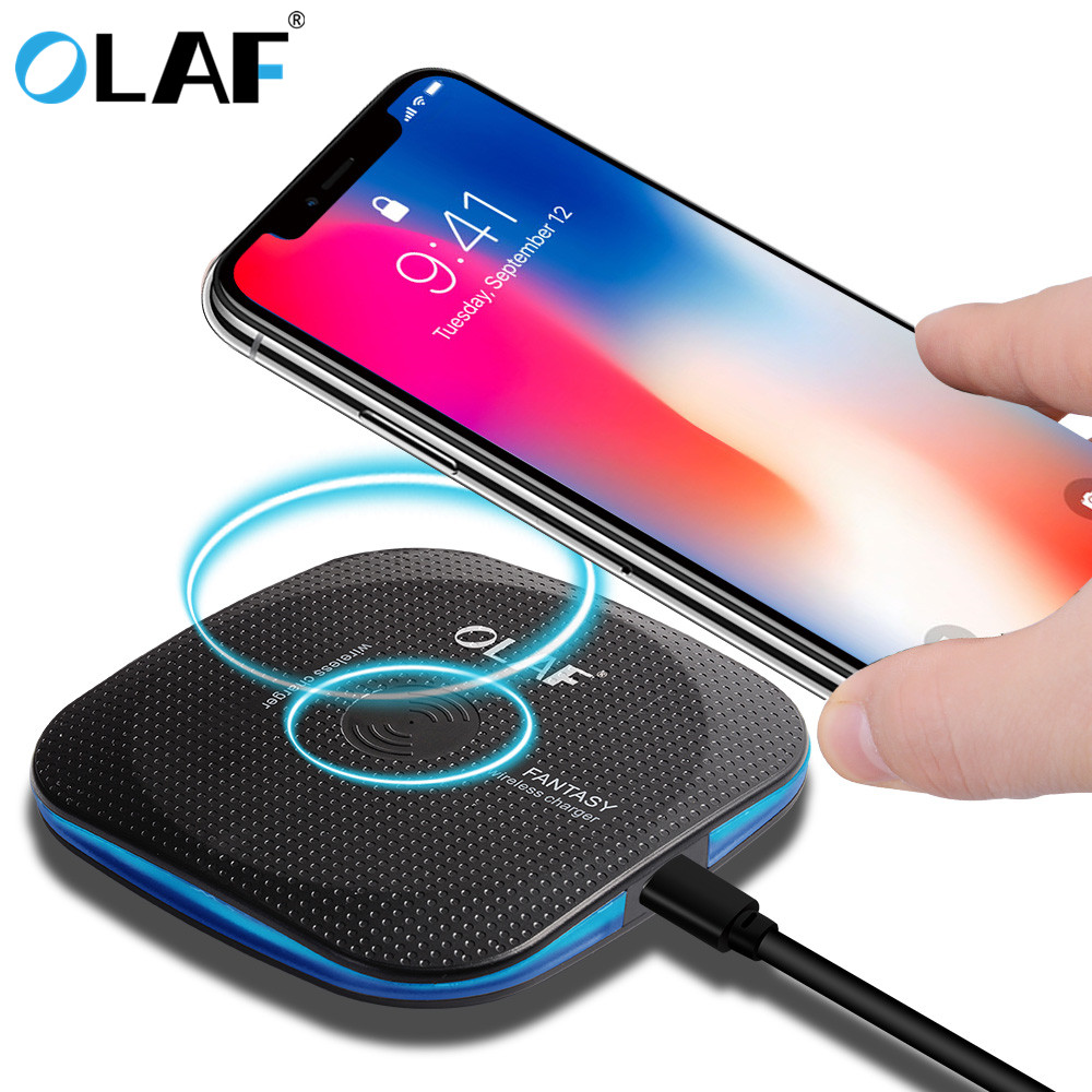 Marjay 10W Qi Wireless Charger for iPhone X88 Plus Fast