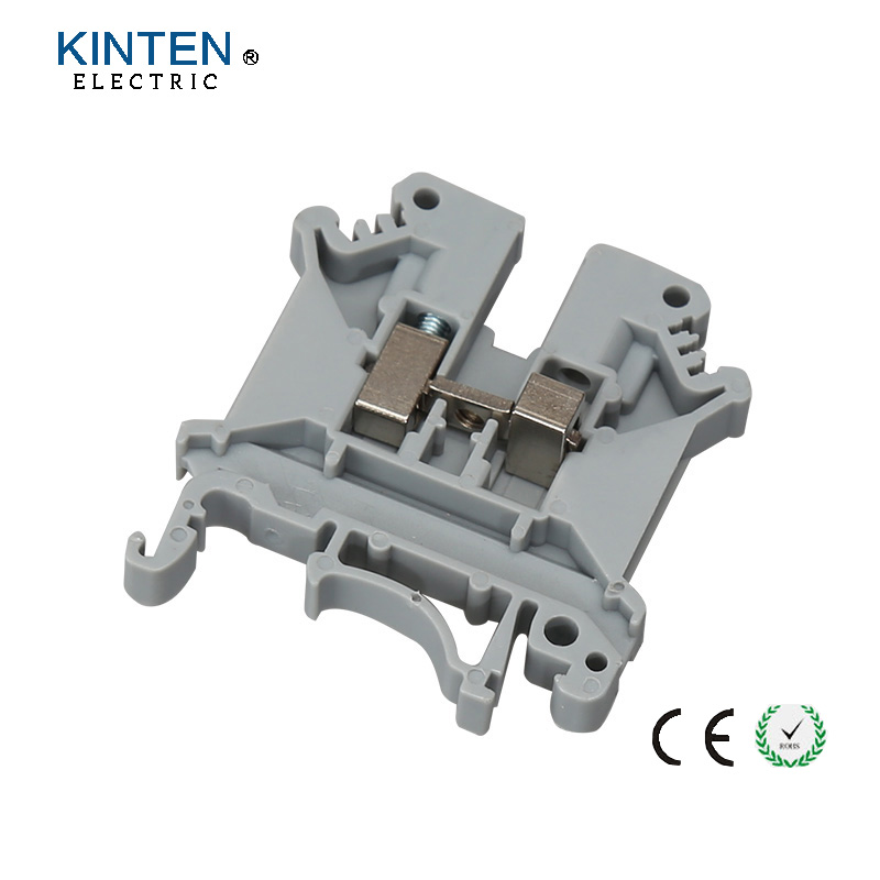 10pcs lot UK 5N Din Rail Uneiversal Terminal Blocks Screw Type