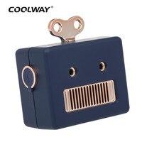 COOLWAY Mini Portable Wireless Bluetooth Speaker Boombox Subwoofer Speakers Amplifier Audio Loudspeaker For IPhone Xaomi Samsung