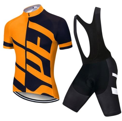 Esportes ao ar Definir Bicicleta Conjunto Camisa Desgaste