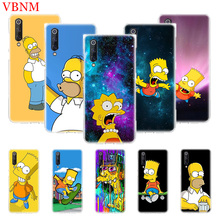 Bart Simpson Fantasy Soft Silicome Phone Case For Xiaomi Mi 5S Plus 5X 6X 8 9 SE Lite F1 Play Mix 3 Gift Customized Cases