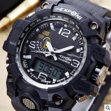 EXPCNI Sports activities mountaineering waterproof males's digital watch relogio masculino watch males relogio feminino ladies watches