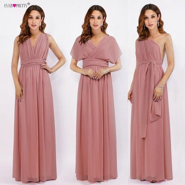 chiffon multiway dress