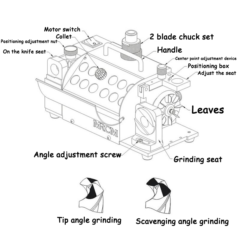 MR-13A puurvarda teritaja puurveski lihvimismasinaga kaasaskantavad - Elektrilised tööriistad - Foto 4