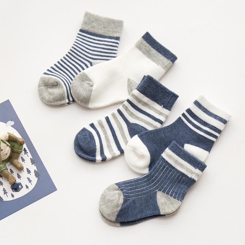 Baby Infant Socks 5 Pack Kids Socks Toddlers Socks Girls Boys Cotton Socks