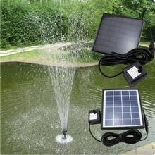 1 компл. Садовые растения солнечные растения Полив Открытый солнечной энергии фонтан бассейн Водяной насос World wie