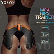Беспроводной EMS бедра тренер дистанционного USB Перезаряжаемые мышцы тонер стимулятор Butt тонер помогает поднять Форма и фирмы притык