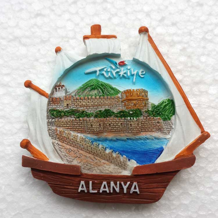 Turkey Antalya Alanya is a fridge sticker