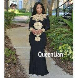 Envío de Moda Africana diseño de cuello alto bordado señora tradicional Maxi tela Dashiki vestido africano para mujer (GL02 #)